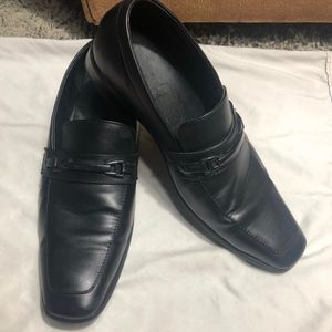 Perry Ellis Portfolio Stewart Black Dress Shoe